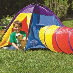 Купить игровую палатку с тоннельной трубой