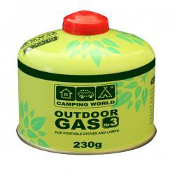 Купить баллон газовый резьбовой Outdoor 230 г CW