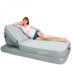 Купить надувную кровать Airbed with Adjustable Backrest