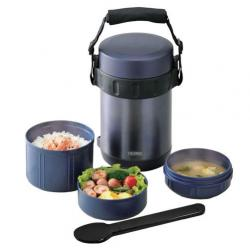 Купить термос для еды с контейнерами JBA-2001
