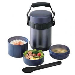 Купить термос для еды с контейнерами JBA-1801